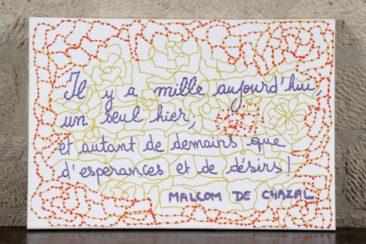 Malcolm de Chazal par Anne-Valérie Hash - 60 X 40 CM