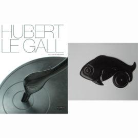 Mazel Galerie H7  Hubert Le Gall - Catalogue raisonné et bougeoir 1 exemplaire numéroté/signé et bougeoir (99 ex en bronze patiné) + 5 exemplaires du livre standard (catalogue raisonné) de Hubert le Gall vendus au profit de Dessine l'Espoir.