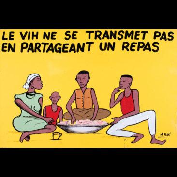 LE VIH NE SE TRANSMET PAS EN PARTAGEANT UN REPAS - Sida wâ bâaga pa logd neb sên naagtaab layêegpugê n ditè ye.
